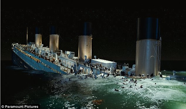 Cutting edge: Cameron explained that crowd scenes on the Titanic were done using computer graphics