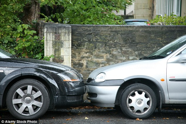 Motorists said they take five attempts on average to parallel park into a vacant space