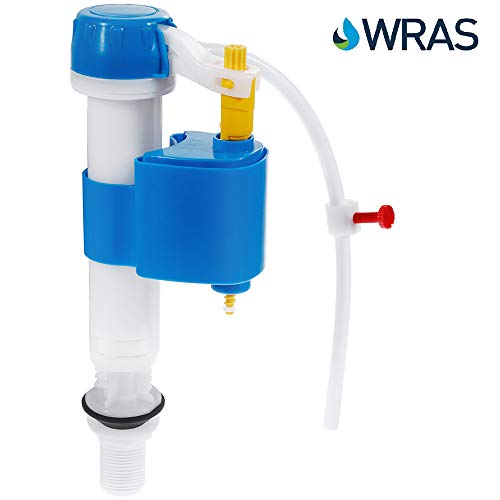 Rovtop Toilet Fill Valve, with Adjustable Quick Shut Off and Perfect Flush Anti-Siphon