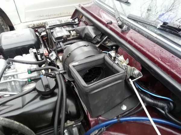 Переделка печки Lada 4x4 (установка вентилятора от ВАЗ 2108