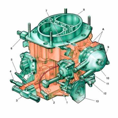 ремонт ускорительного насоса карбюратора ваз 2107
